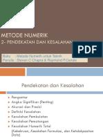 Metode Numerik_3_Bilangan Angka Kesalahan