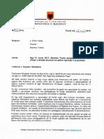 Letra e ministrit Koka per 61 kryebashkiaket
