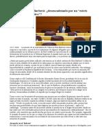 """El Infarto de Rita Barberá Desencadenado Por Un """"Estrés Continuado y Negativo"""""""