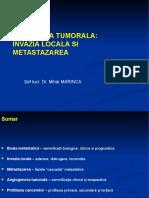 Oncologie-Invazia Locala Si Metastazarea