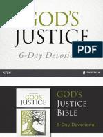 Justice SlideShare ReadingPlan