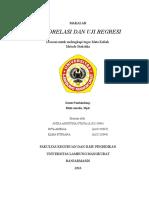 Uji Korelasi Dan Uji Regresi Kel6