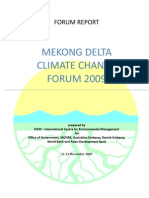 Mekong Delta Climate Change Forum 2009