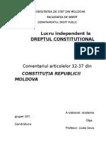 Universitatea de Stat Din Moldova Olga Gandrabura