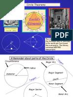 Presentation on circles