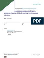 Sistemas Combinados de Conservación Para Prolongar La Vida Útil de La Carne y Los Productos Cárnicos (1)