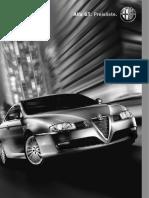 Alfa Romeo GT Pricelist (German)