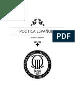 Apuntes Politica Española