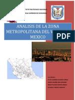 Analisis de La Zona Metropolitana Del Valle de Mexico