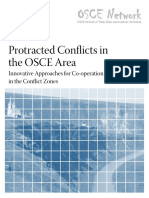 Protracted Conflicts in the OSCE Area