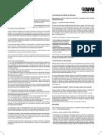 AMI - Disposições Regulamentares