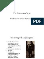 Dr Faust on Capri