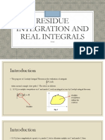 C6L6 Residue Integration and Real Integrals