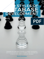 Two Styles of Database Development