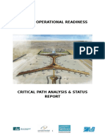 Airport Operational Readiness Critical Path  Status Report.docx