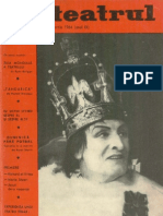 Revista Teatrul, nr. 3, anul IX, martie 1964