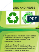 Recycling and Reuse Ppt (1)