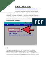 Cómo Instalar Linux Mint