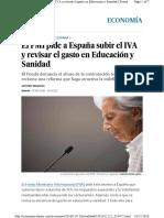 Fmi Subir Iva