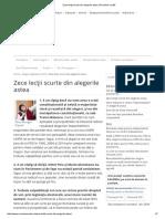 Zece Lecţii Scurte Din Alegerile Astea _ România Curată