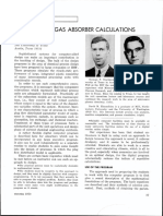 gas absorber calculations