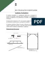 Manual de Utilização e Montagem Andaime Fachadeiro