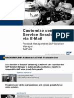 Customize Sending Services Sessions via E-Mail.ppt