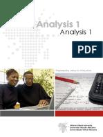AVU - Analysis 1