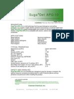 SugaDet APG-10