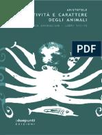 Aristotele - Historia animalium IX