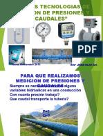 Nuevas Tecnologias de Medicion de Caudales y Presiones