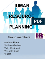 HRM Planning Ppt