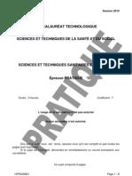 ST2S Pratique Sciences Sani