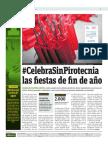 Celebra Sin Pirotecnia Las Fiestas de Fin de Año