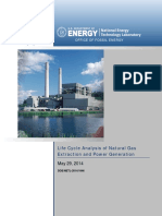 Life Cycle Analysis of Natural Gas Extraction and Power Generation