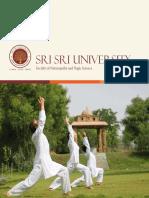 Sri Sri University Yoga 2015