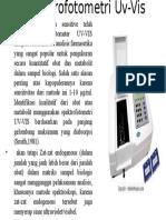 Prak Bffk Uv-Vis