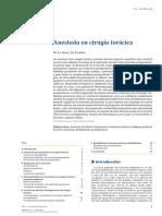 Anestesia Torax
