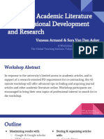 Accessing Academic Literature for Professional Development and Research Edited