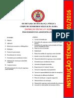 INSTRUÇÃO TÉCNICA Nº. 01-2016 - PROCEDIMENTOS ADMINISTRATIVOS.pdf