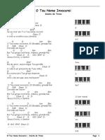 O Teu Nome Invocarei - Diante Do Trono.cifras - PDF