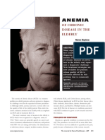 20182 - Anemia of Chronic Disease in the Elderly