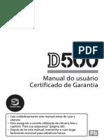 Manual Nikon D500 (Português-BR)