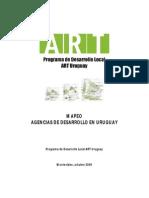 Mapeo Agencias de Desarrollo Uruguay