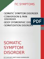 Somatic Symptoms Disorder