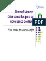 09 Criar Consultas No Access - 1 Folha