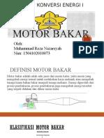Motor Bakar m.reza Nazarsyah