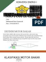 Motor Bakar Reza