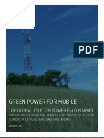 THE GLOBAL TELECOM TOWER ESCO MARKET