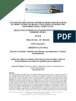 Análise Dos Reflexos Econômicos Derivados de Surtos Da Gripe Aviária No Brasil Utilizando Um Modelo de Equilíbrio Geral Computável.